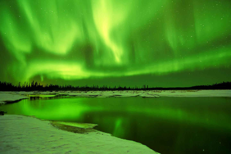 Fairbanks Aurora Boreale