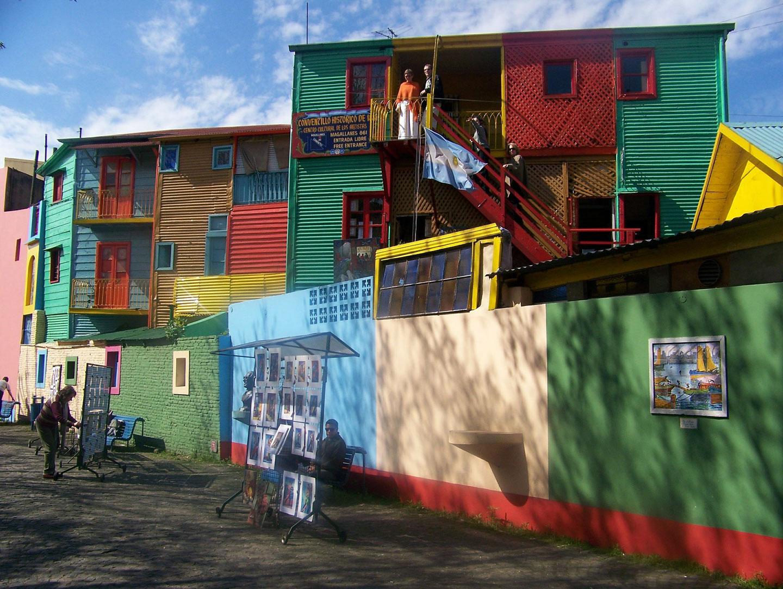 Buenos Aires, quartiere La Boca