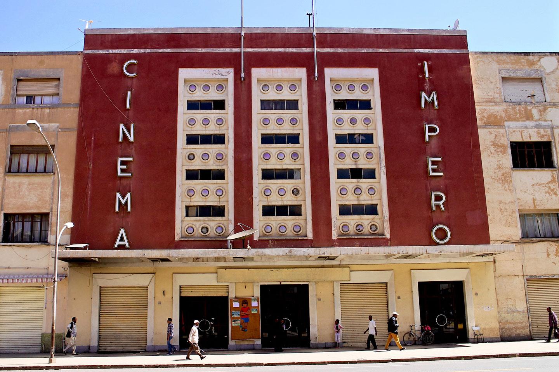Cinema Impero, Asmara Eritrea