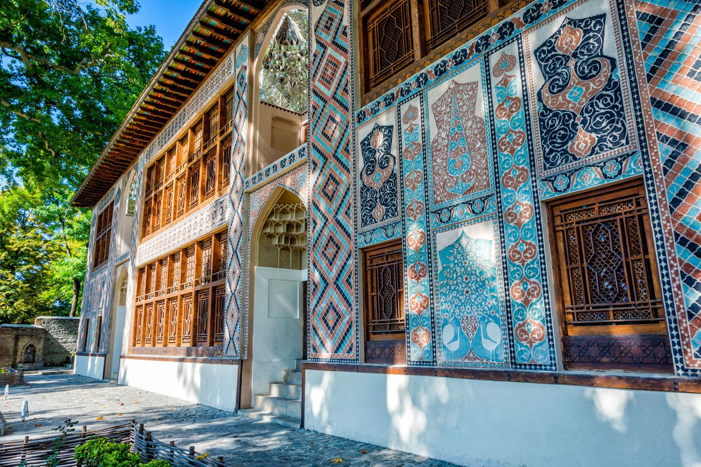 Azerbaigian Sheki Palazzo