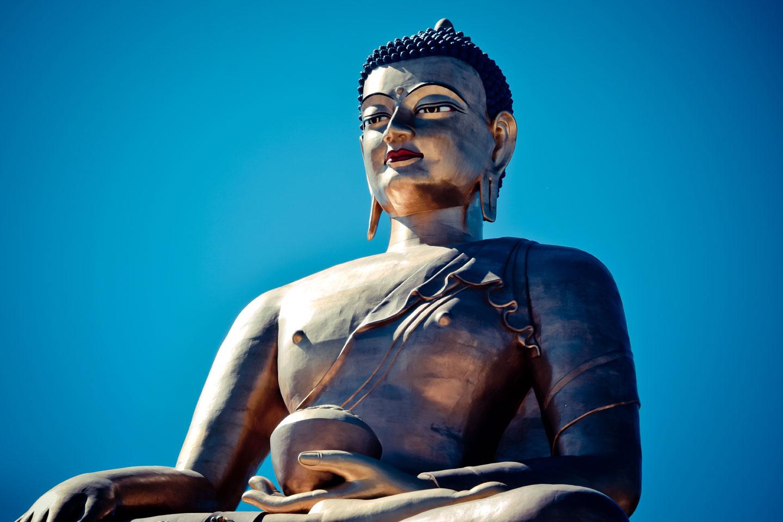 Bhutan Statua Religione