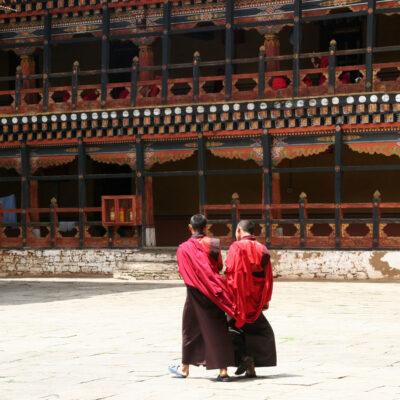 Bhutan Religione Monastero Dzong