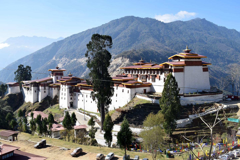 Bhutan Religione Monastero Trongsa