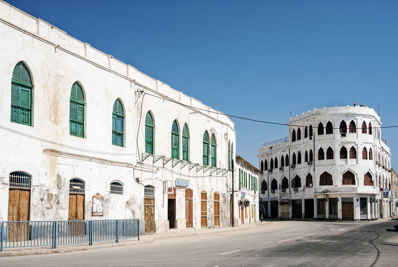 Eritrea edifici coloniali Massawa