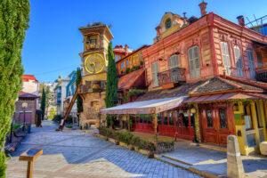 Georgia Tbilisi Centro Storico