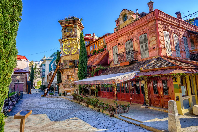 Il centro storico di Tbilisi, Georgia