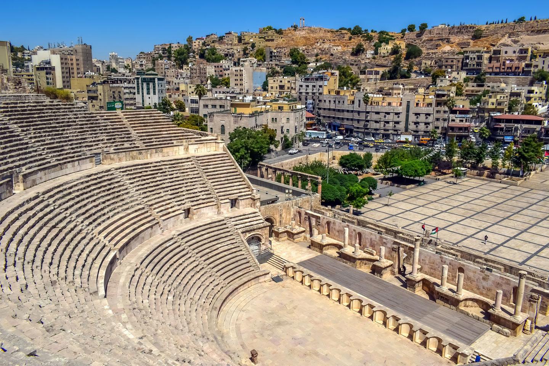 Giordania Amman Teatro