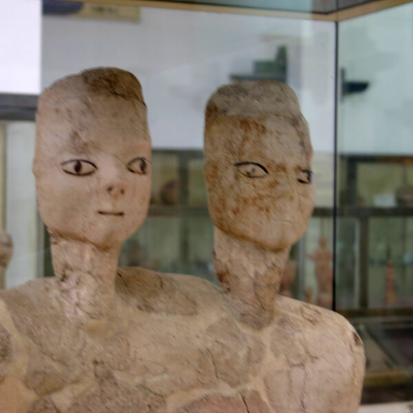 Amman Museo della Cittadella Statue