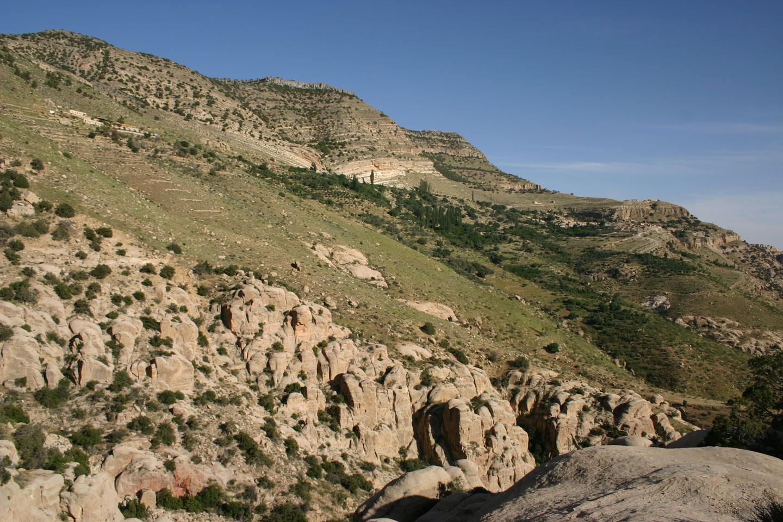 Giordania Montagne Riserva Naturale di Dana