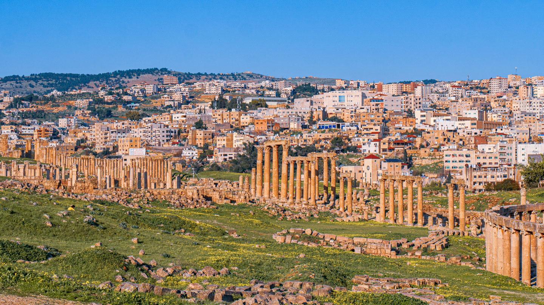 Jerash Giordania Archeologia