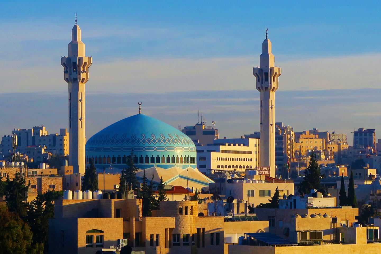 Amman Giordania Moschea