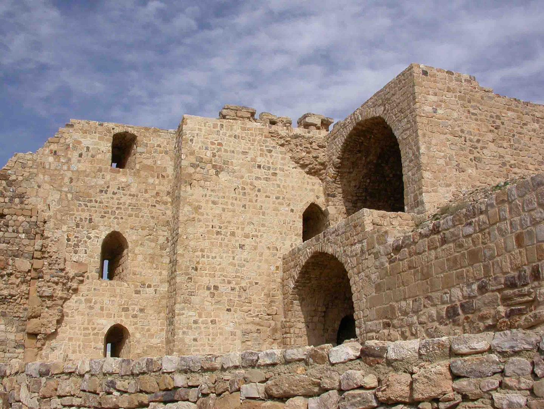 Il castello crociato di Kerak, Giordania