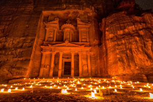 Petra by night Giordania