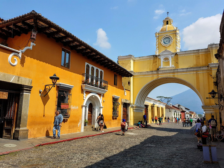 Guatemala Antigua Arco di Santa Catalina