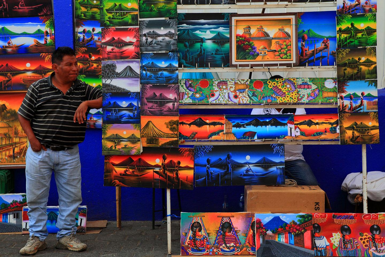Mercato di Chichicastenango in Guatemala, uno dei mercati più belli e colorati del Centroamerica