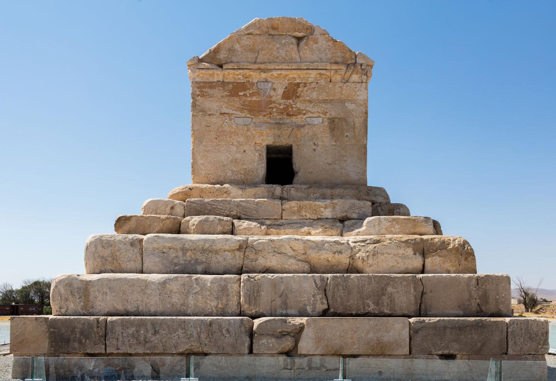 Iran, Pasargadae tomba di Ciro il Grande