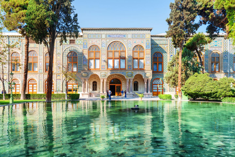Teheran Golestan Palace