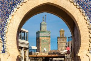 Marocco Fes Bab Bou Jeloud