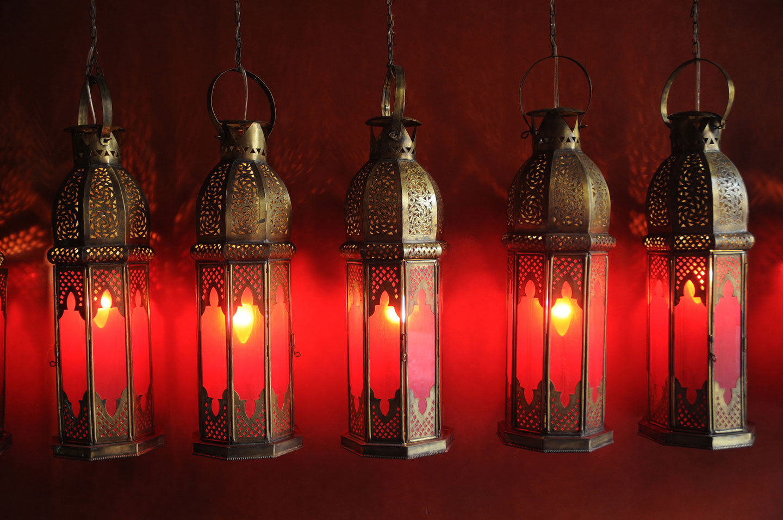 Marocco Marrakech Lampade