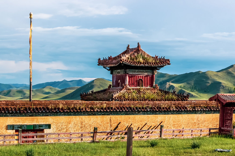 Mongolia Amarbayasgalant Monastero