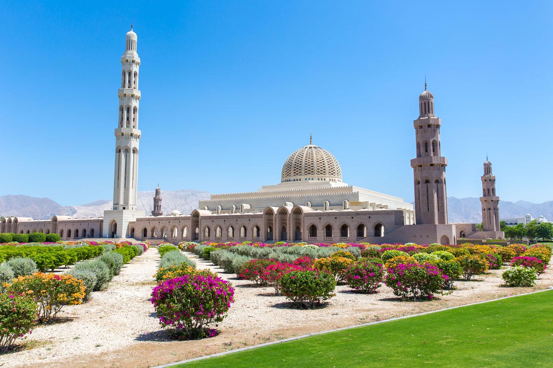 Grande Moschea Sultano Qabus, Muscat Oman