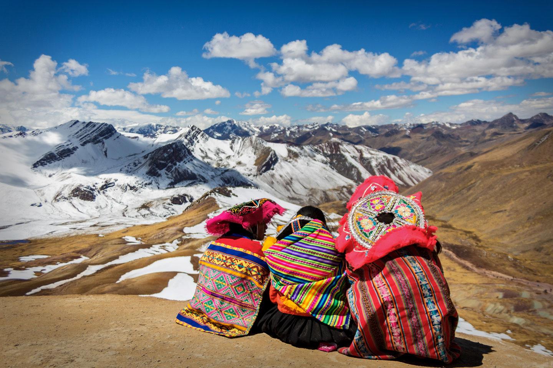 Ande Abiti Tradizionali del Perù