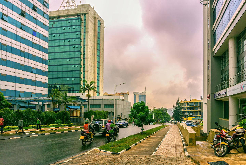 Ruanda la capitale Kigali
