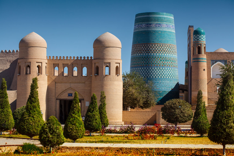 Uzbekistan Khiva, la porta occidentale