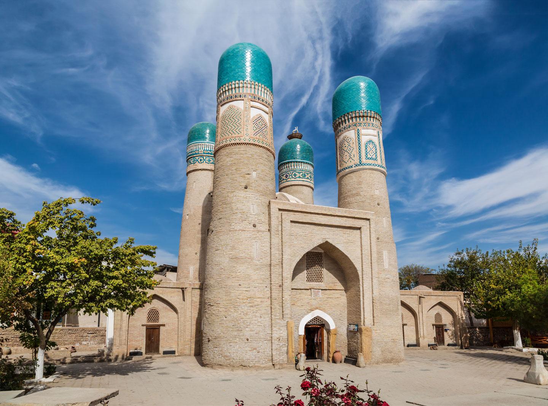 Chor Minor Madrassa, Bukhara Uzbekistan