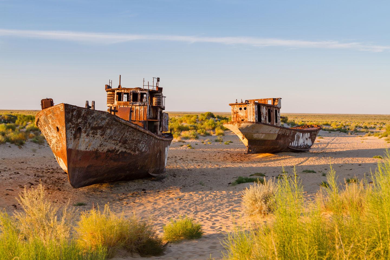 Muynak e il Lago d'Aral