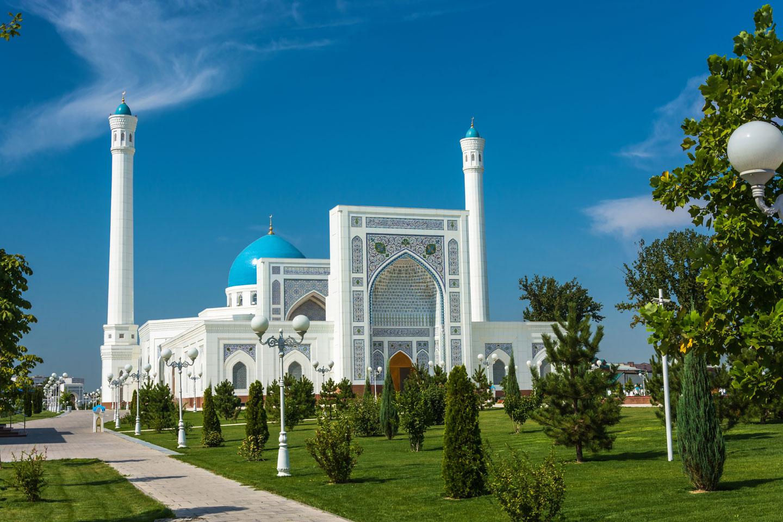 Tashkent Moschea Bianca