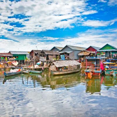 Lago Tonle Cambogia
