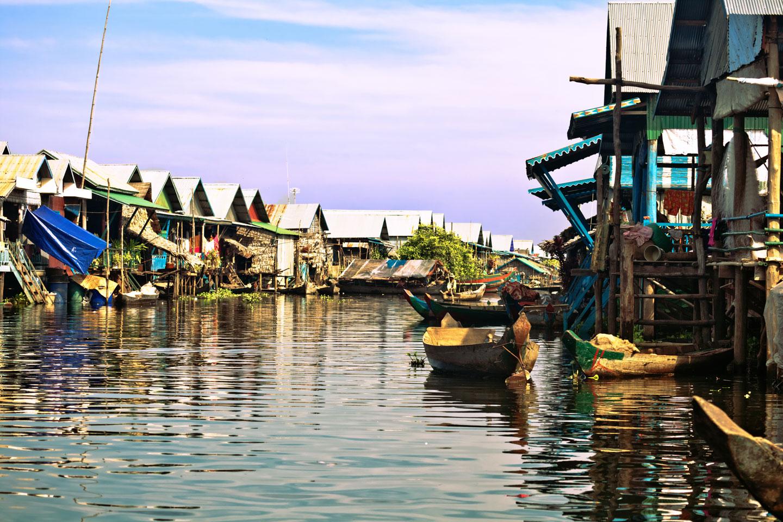 Cambogia Lago Tonle Sap