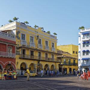 Cartagena Colombia Centro Città Coloniale