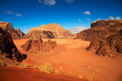 Wadi Rum Deserto, Giordania