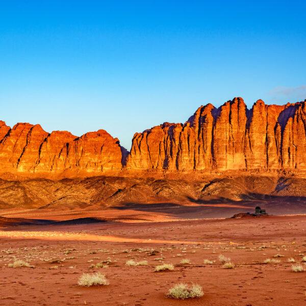 Deserto Wadi Rum. Giordania