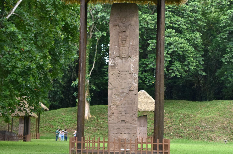 Guatemala Quirigua stele maya