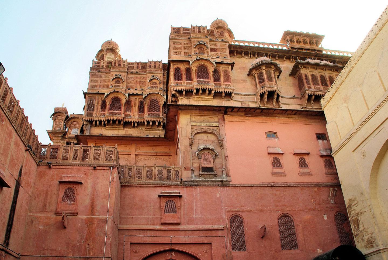 India Bikaner palazzo