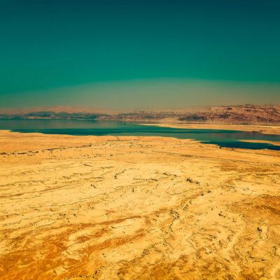 Mar Morto Israele Panorama