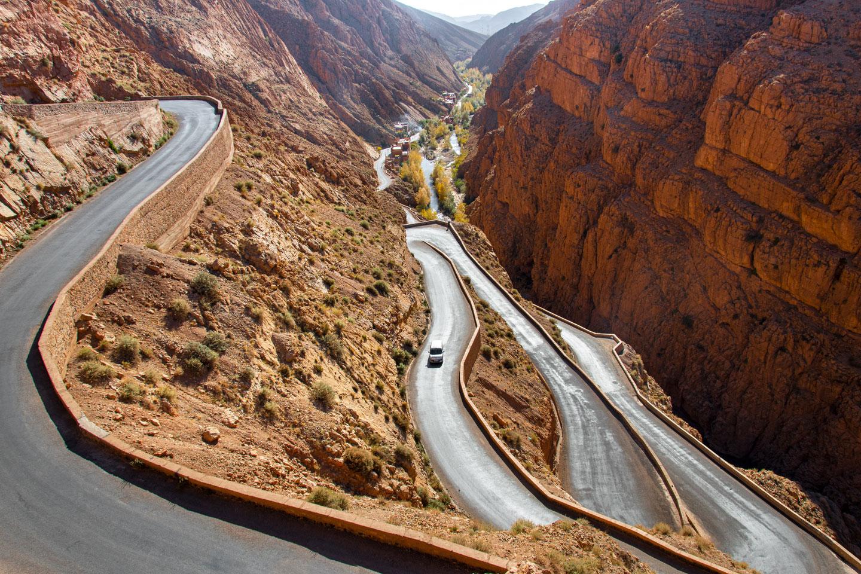 Marocco gole del Dades