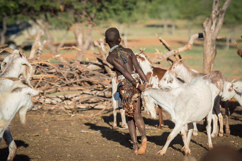 Namibia Himba ragazzo