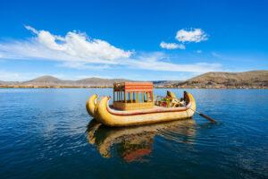 Perù Titicaca Uros Imbarcazione