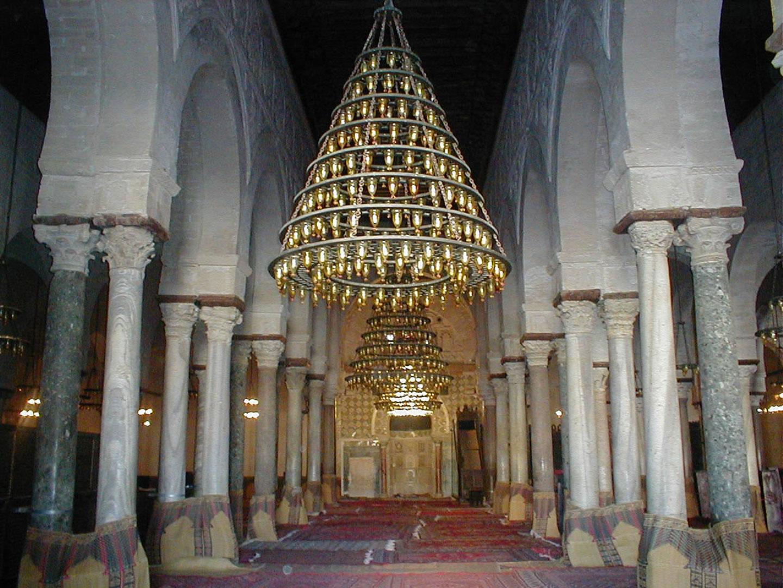 Tunisia Kairouan moschea