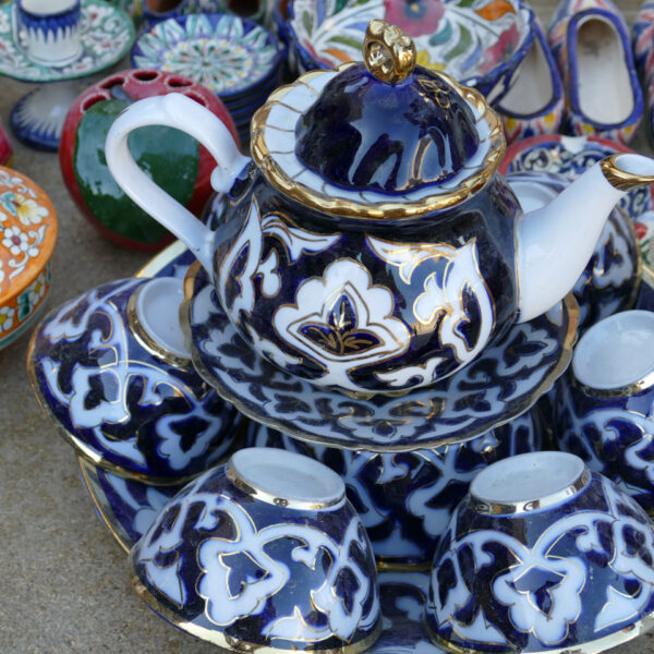 Uzbekistan Ceramiche Artigianato