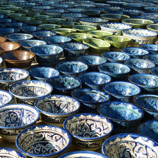Uzbekistan Artigianato Ceramiche