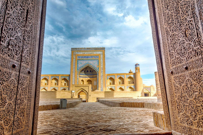 Khiva Uzbekistan città vecchia