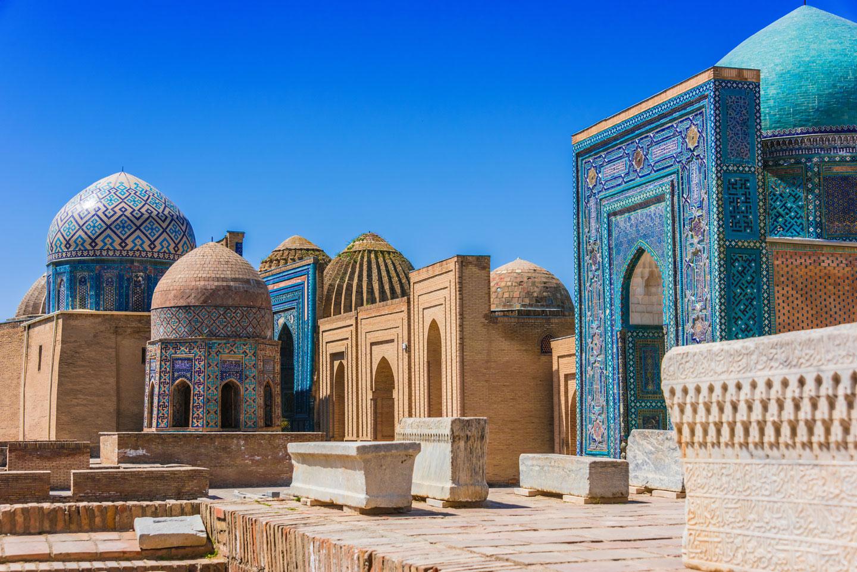 Uzbekistan Samarcanda Shah-i-Zinda necropoli