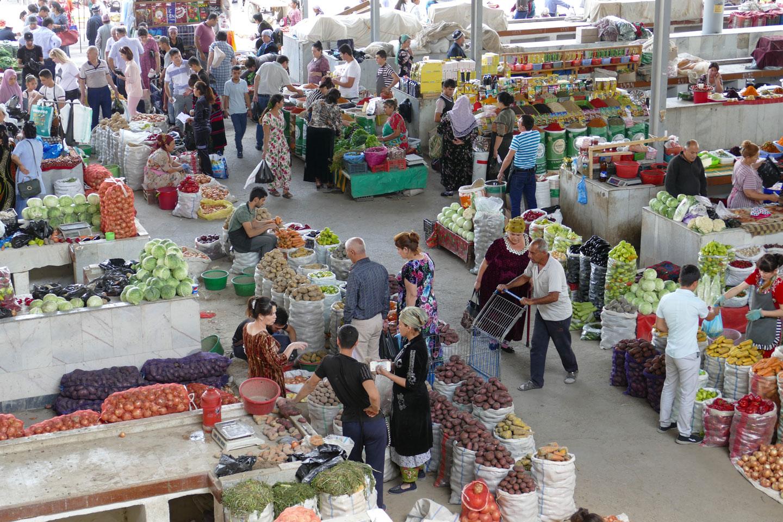 Samarcanda Mercato Shopping