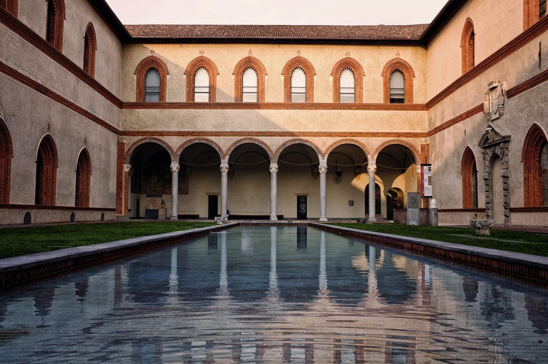 Castello Sforzesco Milano Interni