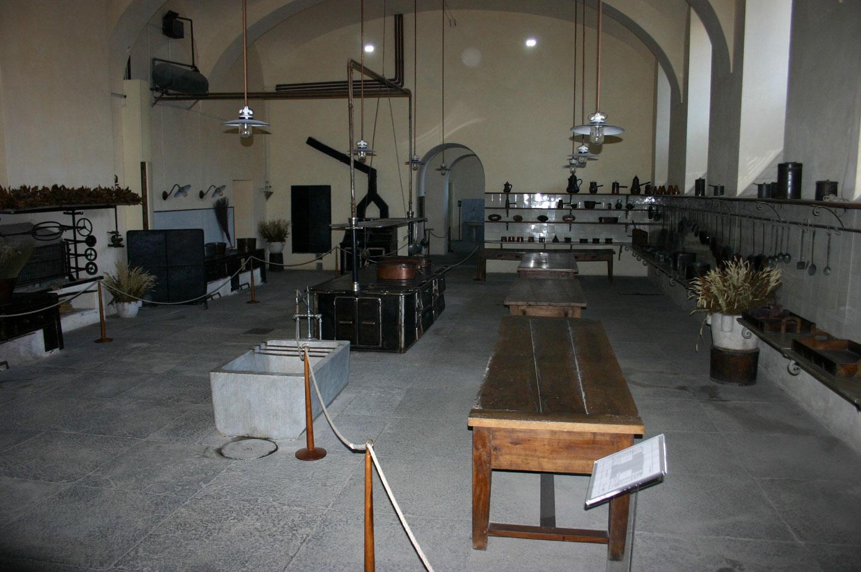 Castello di Racconigi Le Cucine